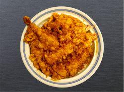 魚を胡麻油でカラリと揚げるのが江戸流「天ぷら」
